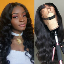 100% Brazilian Wavy/Curly/Bob Human Hair Lace Front Wigs Glueless With Baby Hair