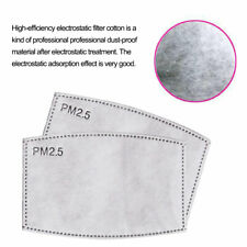 10/30x Pm2.5 Filter Paper Anti Haze Mouth Respirator Anti Dust Filter Paper