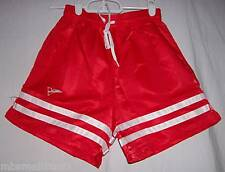 RED Adult Soccer Shorts BELOW WHOLESALE + FREE S&H