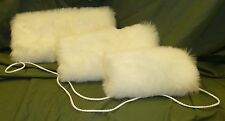 FAUX FUR HAND MUFF/MITT WARMER- 9 FUR COLOURS - 3 SIZES