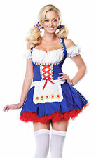 Dutch Darling Alpine Costume, Leg Avenue 83514, Adult Women's Size S/M