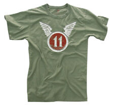 OLIVE DRAB VINTAGE ''11TH AIRBORNE'' AIR FORCE T-SHIRT