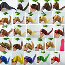 """Any Color Straight 6Pcs 30g 20""""Long Remy Real Clip In 100% Human Hair Extensions"""