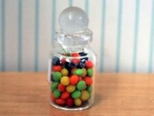 Dolls House Miniature 1/12th Scale Candy Bottle with Fake Contents