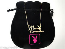 PLAYBOY Playmate of the month Gold plated Girls Womens Ladies Necklaces