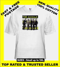 Tee Shirt New Unisex 1960's Brit Pop Legends THE ANIMALS Quality T Shirt