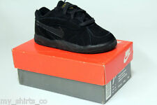 Nike Little Bound All Black Authentic Vintage OG Toddler Baby Sneakers Brand New
