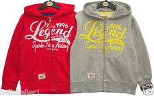 *FREE P&P* BOY SOUL&GLORY LEGEND HOODY/HOODED ZIPPER 7-8 9-10 11-12 Y