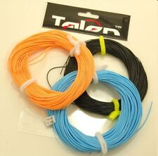 SET OF THREE TALON FLY LINES, FLOATING,  INTERMDIATE & SINKING + 6 BRAIDED LOOPS