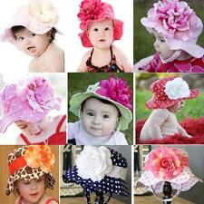Baby, Girl Beautiful Floppy Sun Hat Detachable Flower! Stunning Boutique Quality
