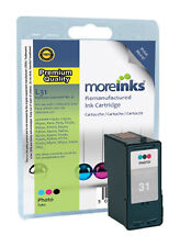 Remanufactured No.31 Photo Colour Ink Cartridge for Lexmark Printers