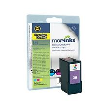 Remanufactured No.35 Tri-Colour Ink Cartridge for Lexmark X2500 Printer & more