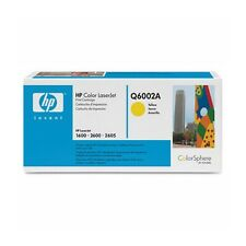 Genuine HP Q6002A Yellow Laser Toner Cartridge for Printers