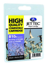 Compatible Jettec LC1000 / LC970 Black Ink Cartridge for Brother Printers