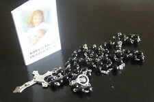 BABY'S FIRST PRAYER Booklet Book, Rosary Beads Rosaries, Box, Childrens BNIB