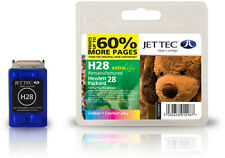 Remanufactured Jettec HP28 Tri-Colour Ink Cartridge for Officejet 5510xi & more