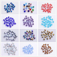 Wholesale 500 Glass Crystal Jewelry Diy Finding Bicone Beads 4mm Jade And AB (3