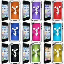 Apple iPod Touch 4th Generation 4g Hard Case Cover Cheerleader with pom poms