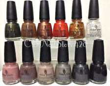 China Glaze - THE HUNGER GAMES Collection #1121-1132- Pick Your Favorite Color