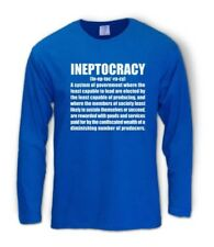 INEPTOCRACY 2012 Long Sleeve T-Shirt usa goverment election defintion new funny
