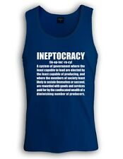 INEPTOCRACY 2012 Singlet usa goverment election defintion tank top funny tee