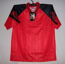 Red & Black Soccer jersey jerseys Wholesale Youth Large Small Medium Large XL
