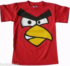 Angry Birds Toddler Kids Funny T Shirt XS-XL U.S. FREE SHIPPING