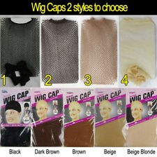 BRAND NEW WIG CAP CONTROL HAIR UNDER WIG PARTY SOFT STOCKING OR Fishnet Mesh