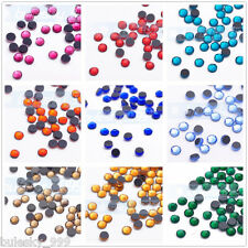 Wholesale 1440pc SS10 2.8mm SS16 4mm Hotfix Iron Flatback Crystal Rhinestones