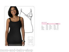 GLAMOURMOM MATERNITY NURSING BRA FULL BUST SLIMMING LONG TOP SHAPEWEAR CAMISOLE