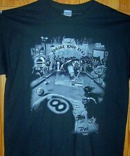 PARTYING WITH THE BIG DOG'S BLACK T SHIRT Sz SM - 5XL Short or Long Sleeve