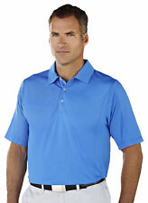Tri-Mountain Men's Three Button Placket Self Collar Diamond Polo T-Shirt. 438
