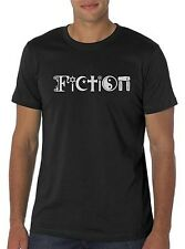 FiCTiON T-Shirt (Atheist Coexist Parody Joke T Shirt)