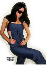 "NEW! ""Ellison"" Sexy, Denim, Oversized, Jumpsuit, Jumper, Overall, Sizes: S, M"