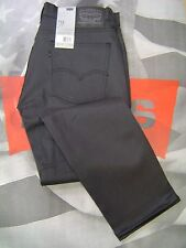 LEVI'S 511 MEN'S SKINNY FIT ZIP FLY JEANS ANTHRACITE STRETCH