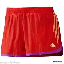 Adidas Women's X11310 AdiZero Split Shorts Running Tennis Training $50 Energy