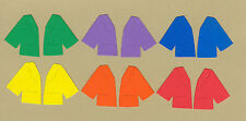 Your choice of colors on Stick Kids Jackets Die Cuts - Dayco/AccuCut
