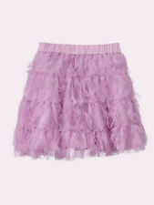 NEW GAP TIERED PURPLE TULLE SKIRT SIZE XS 4/5 M 8L 10 XL 12