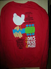 Grateful Dead Woodstock Poster T-Shirt Long-sleeved   (CLOSEOUT 2 LEFT 2XL)