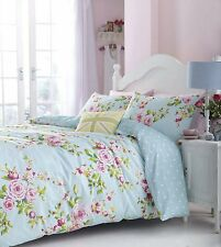 CANTERBURY QUILT/DUVET COVER SET,BEDDING SET,SHABBY CHIC BED LINEN, GREAT BUY
