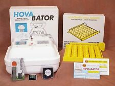 HovaBator Egg Incubator | Auto Turner | Fan Kit | Egg Candler - Poultry Chicken
