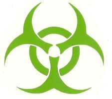 Biohazard vinyl decal sticker / Choose Size and Color