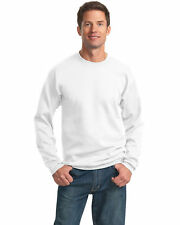 Port & Company Men's Lightweight Classic Crewneck Fleece Sweatshirt. PC78