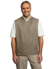 Port Authority Men's Lightweight Rib Knit Wind Resistant Pullover Vest. J702