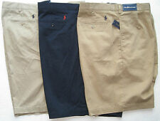 NEW POLO RALPH LAUREN PLEATED TYLER SHORTS, BIG AND TALL msrp $75/85