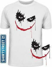 Shirtstreet24, THE JOKER, Heath Ledger Kultshirt Fun Shirt Fun Shirts