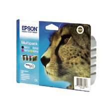 Genuine Epson T0715 Multipack Ink Cartridges for Stylus SX215 Printer & more
