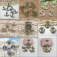 Freeshipping Multi Assorted Anchor design pendant charms