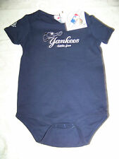 Majestic New York Yankees Baby Infant Bodysuit NWT