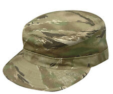 TRU SPEC 3332 All Terrain Tiger Stripe Patrol Cap with Map Pocket Nyco Ripstop